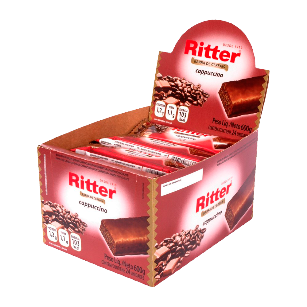 Cereal Ritter Capuccino 24un 25g