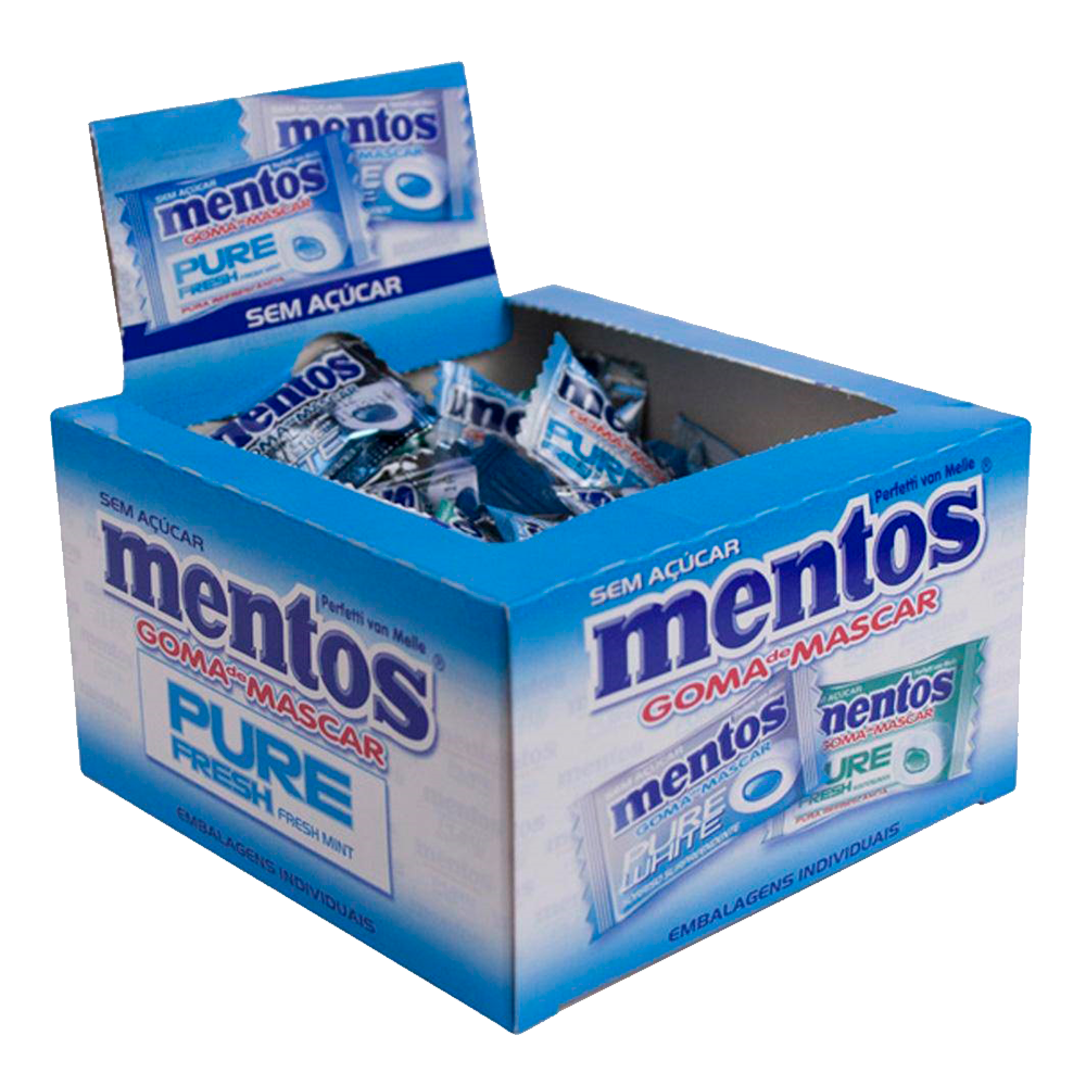 Mentos Pure Fresh White Mint Green 60un