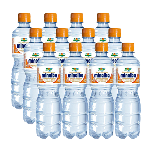 Agua Minalba com Gas 12un 510ml