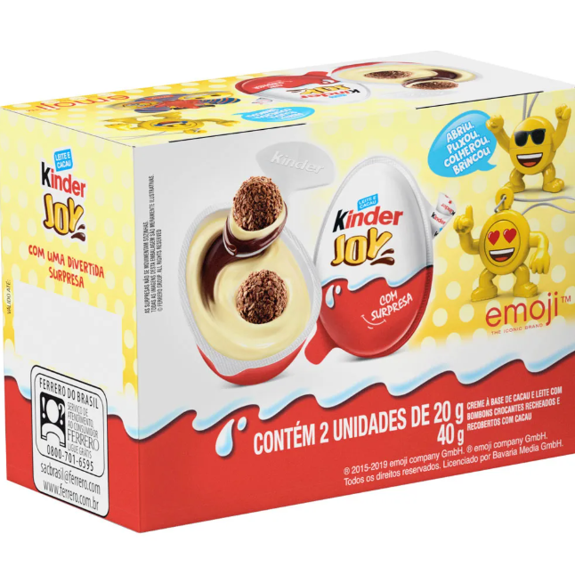 Kinder Joy Emoji 2un 20g