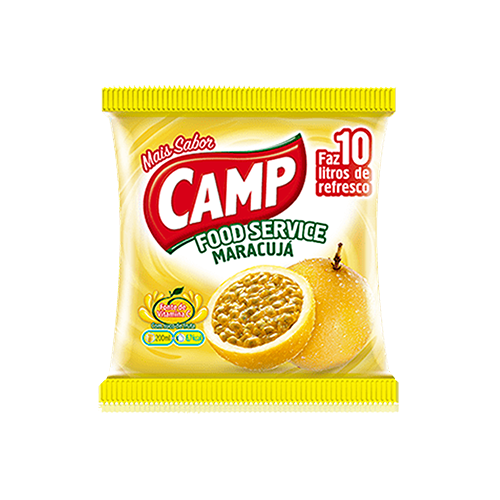 Camp Food Service Maracujá 150g