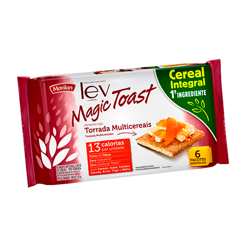 Torrada Magic Toast Multicereais 150g