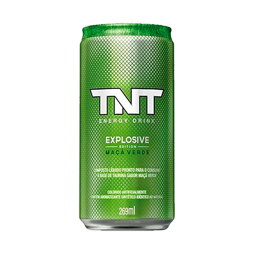Energético TNT Energy Drink Maça Verde 269ml