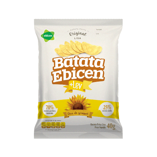 Batata Ebicen Lisa + Lev Natural 40g