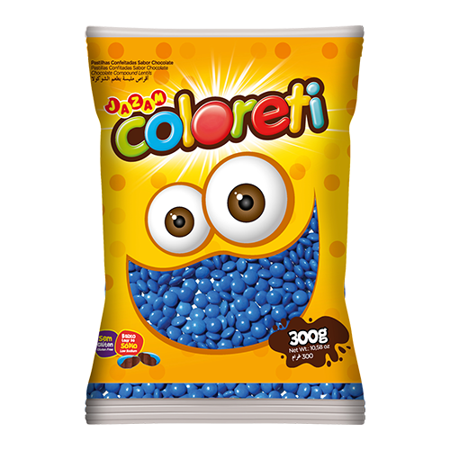 Coloreti Mini Azul 300g