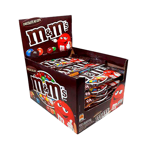 M&MS Chocolate 18un 45g