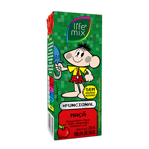 Suco Life Mix Maça 200ml Maça