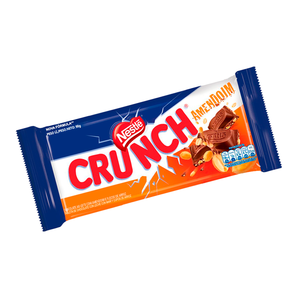 Barra Nestlé Crunch Amendoim 90g