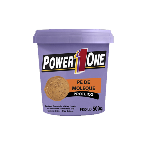 Pasta de Amendoim Pé de Moleque Proteico Power One 500g