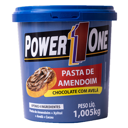 Pasta de Amendoim Chocolate com Avelã PowerOne 1,005kg