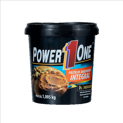 Pasta de Amendoim Integral PowerOne 1,005kg