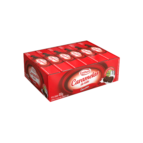 Caramelo Embaré Chocolate 12un 38g
