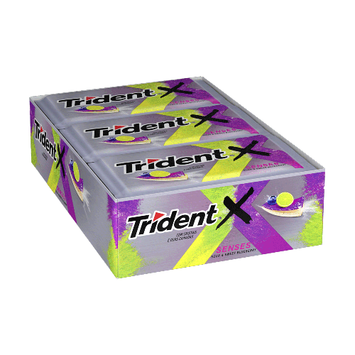 Trident Blueberry e Citrus 21un