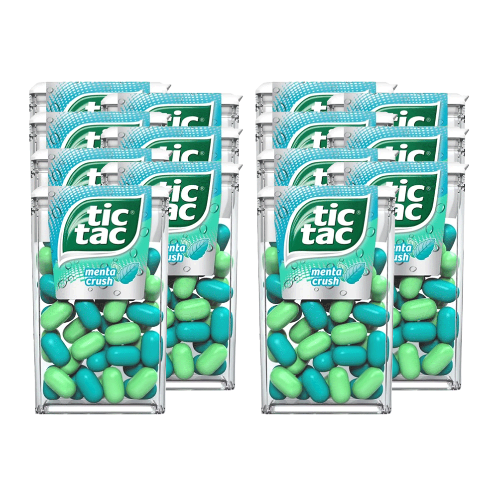 TIC TAC Menta Crush 14un