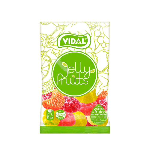 Bala de Goma Vidal Jelly Fruits 80g