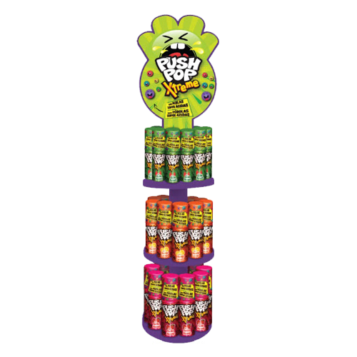 Push Pop Xtreme Torre 30un 15g