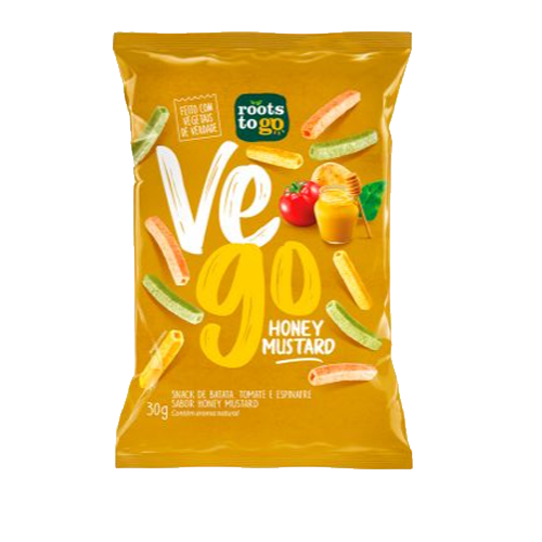 Snak Vego Roots To Go Honey Mustard 30g
