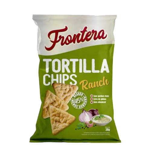 Tortilla Chips Frontera 38g Ranch Fit Food