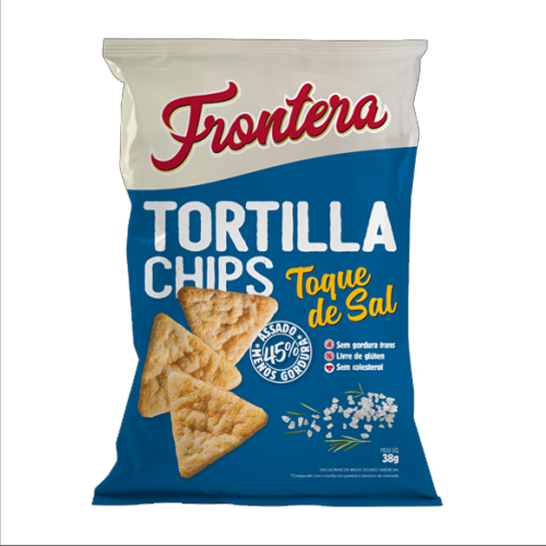 Tortilla Chips Frontera 38g Toque de Sal Fit Food