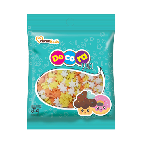 Confeito Decora Fun 50g Summer Cacau Foods