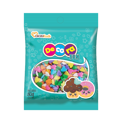 Confeito Decora Fun 50g Love Cacau Foods