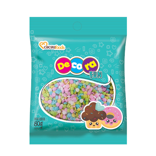Confeito Decora Fun 50g Ball Cacau Foods