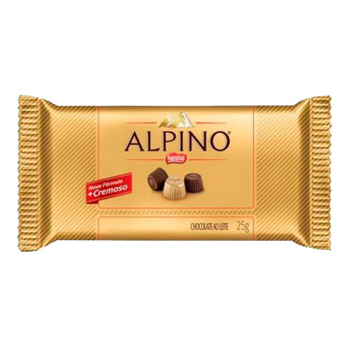 Alpino Tablete DP 22un 25g Nestlé
